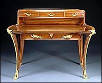 Antichit belsito storia e caratteristiche dell 39 intarsio - Art nouveau mobili ...