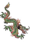 Green Oriental Dragon