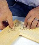 Pasta di legno