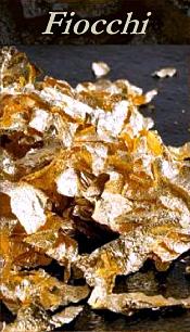Oro alimentare in foglia
