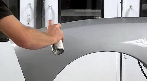 Vernice spray trasparente kz100 macota for How much to paint a car door